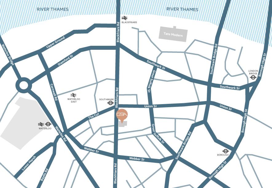 Gardner Stewart Architects - location map