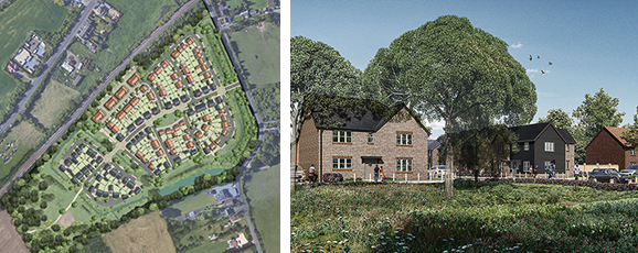 Planning Submission For 178 homes