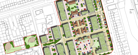 South Oxhey Town Centre Regeneration Submitted