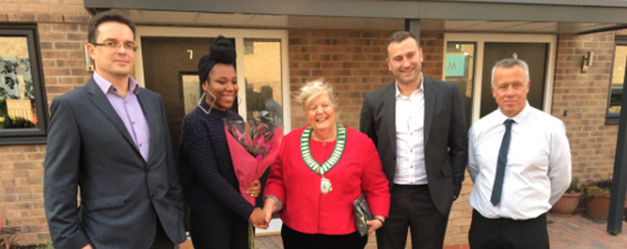 Residents Move In At Harlow