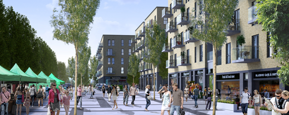 Regeneration Competition Win at South Oxhey