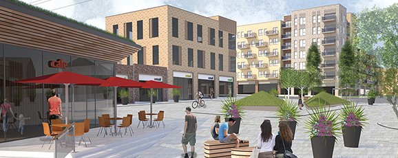 A Bold New Public Square for South Oxhey