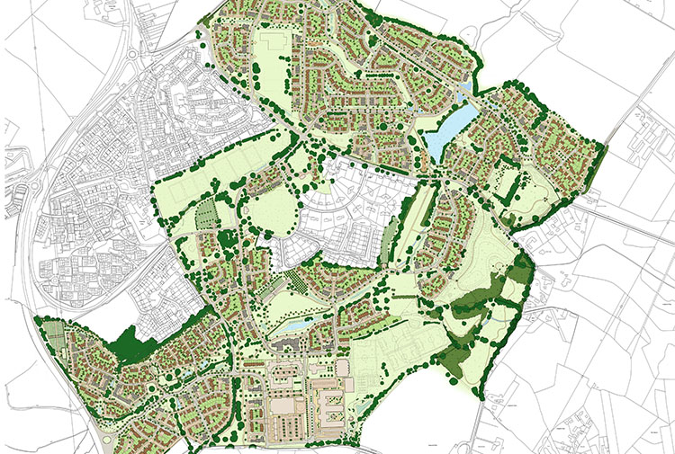 Arborfield Green – Masterplan Proving