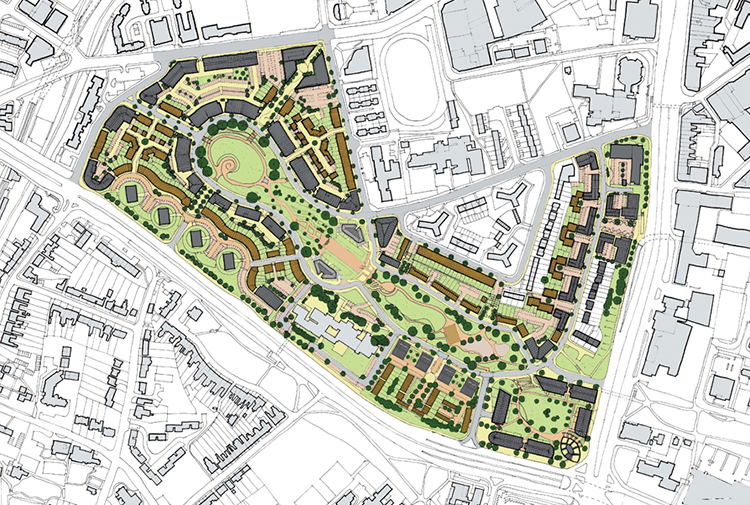 Park Central Masterplanning
