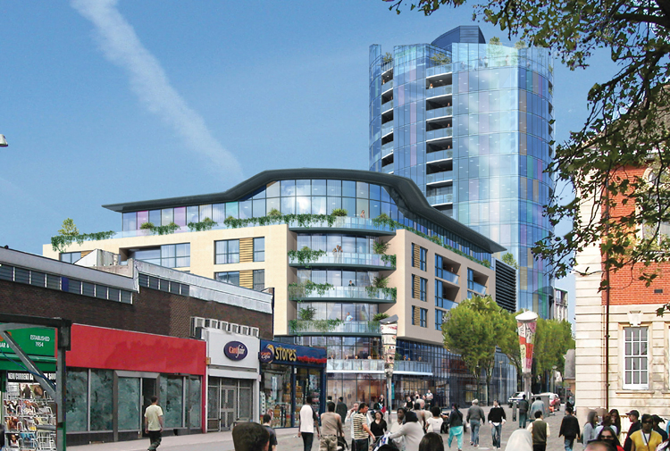 Walthamstow Town Centre